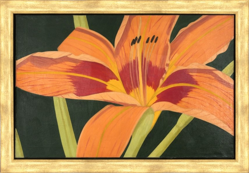 Alex Katz - Tiger Lily, 1968 - Image via casterlinegoodmancom