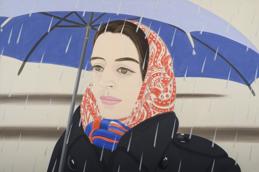 Alex Katz - Untitled contact - Image via wsjnet