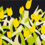 Alex Katz - Yellow Tulips, 2014 (Detail)