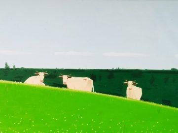 Alex Katz - Three Cows, 1981