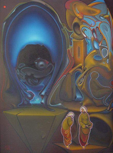 Alex Shabatinas - Beginning of tale II, 2003