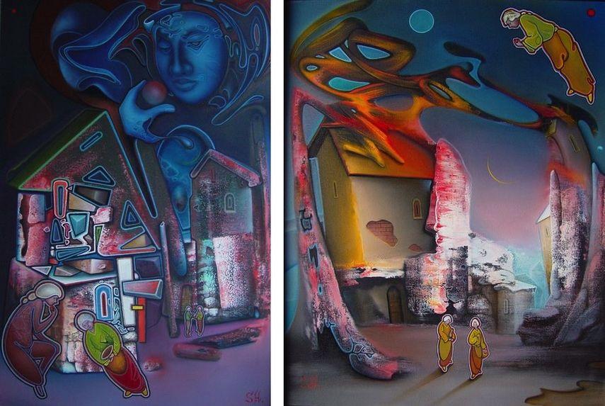 Alex Shabatinas - Still Life VII, 2007 Alex Shabatinas - Tale II, 2003