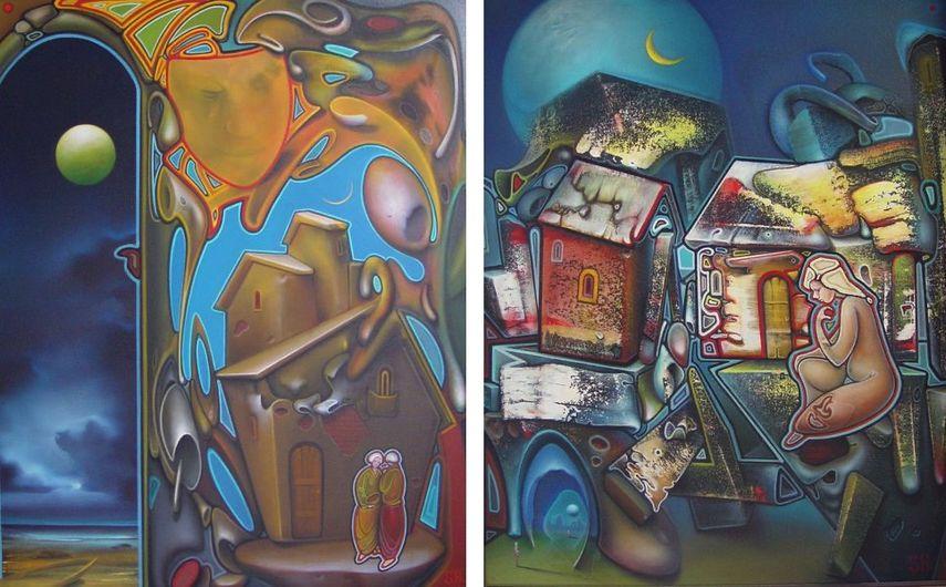 Alex Shabatinas - Tale XII, 2005 Alex Shabatinas - Time I, 2001