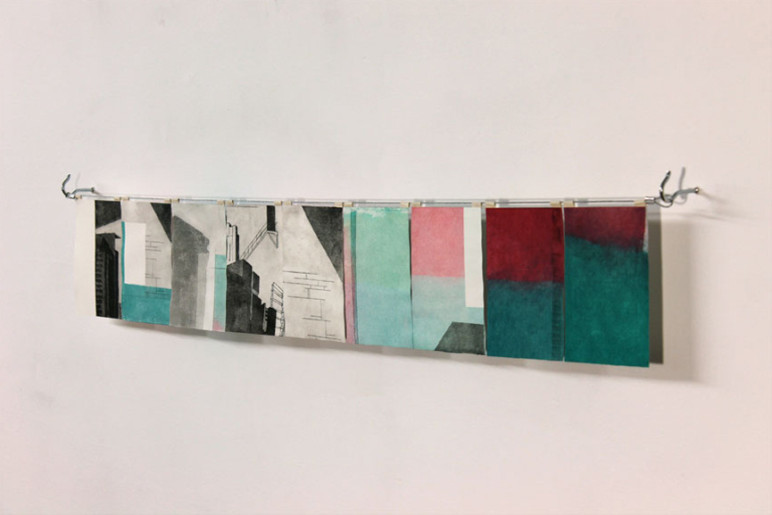 Alex Thompson - Wall piece untitled