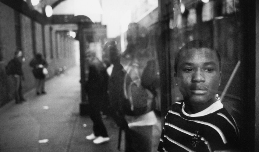 Alex Webb - Downtown, Rochester, New York, 2012 (detail), a new photo series