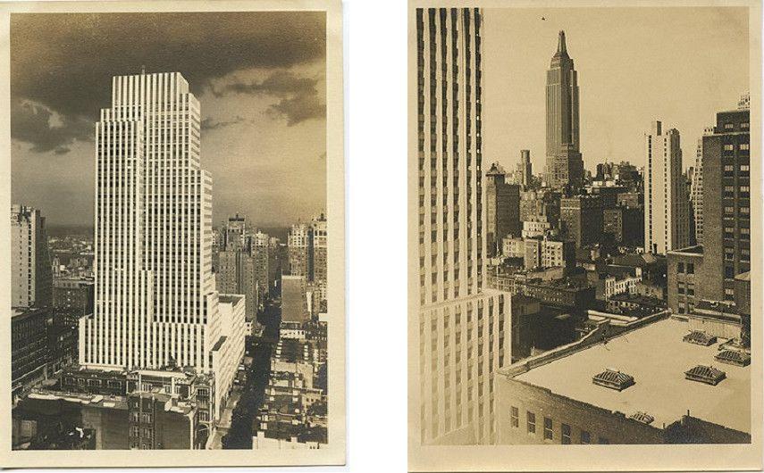 Alexander Artway - NY skyscrapers - 1930s