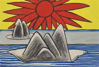 Alexander Calder-Arctic Icebergs-1973