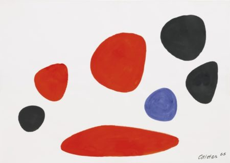 Alexander Calder-Avec Cigare-1965