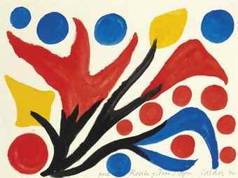 Alexander Calder-Blooming Plant-1970