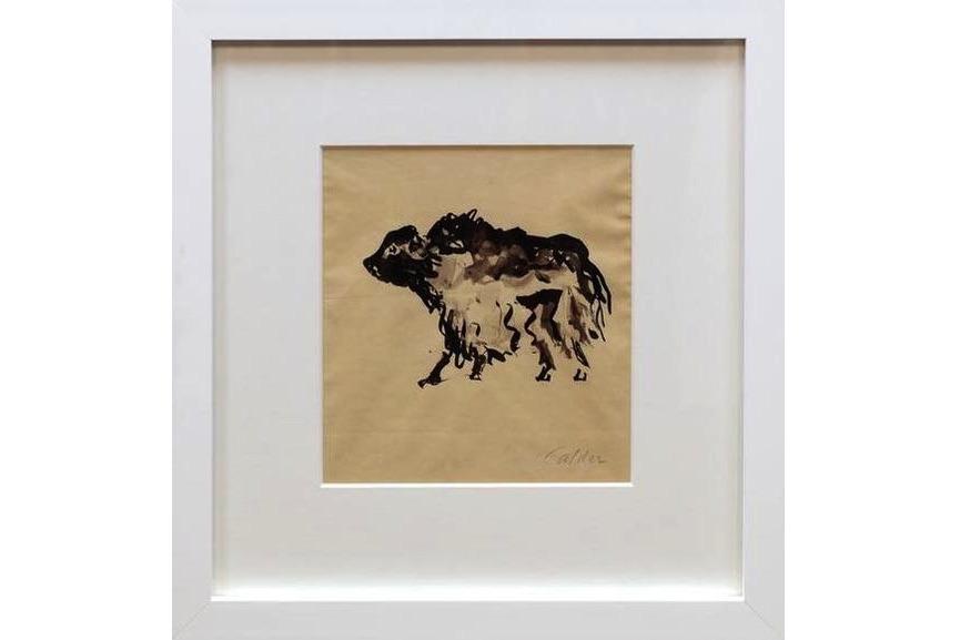 Alexander Calder - Buffalo, 1925