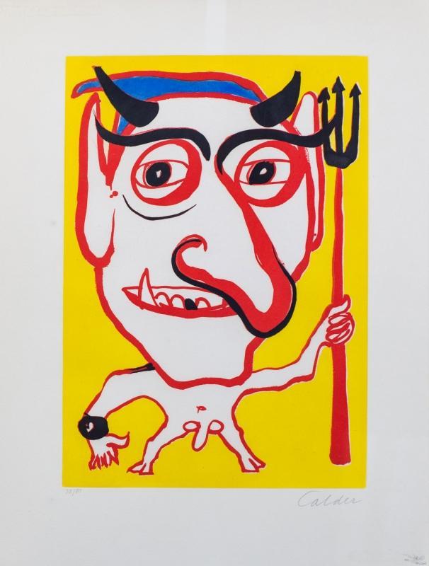 Alexander Calder-Devil-1975