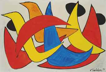 Alexander Calder-Ducks and Seals-1971