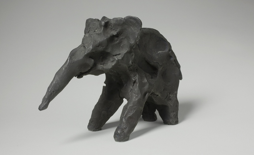 Alexander Calder - Elephant (Bronze), 1930, contact painting gallery