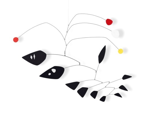 Alexander Calder - Four Above Ten Blacks