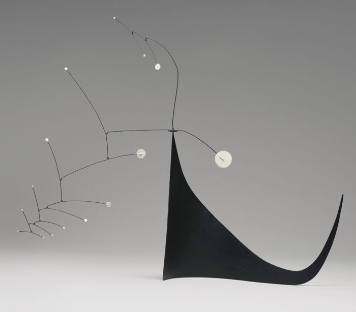 Alexander Calder-Gypsophila On Black Skirt-1950