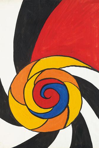 Alexander Calder-L'Escargot-1971