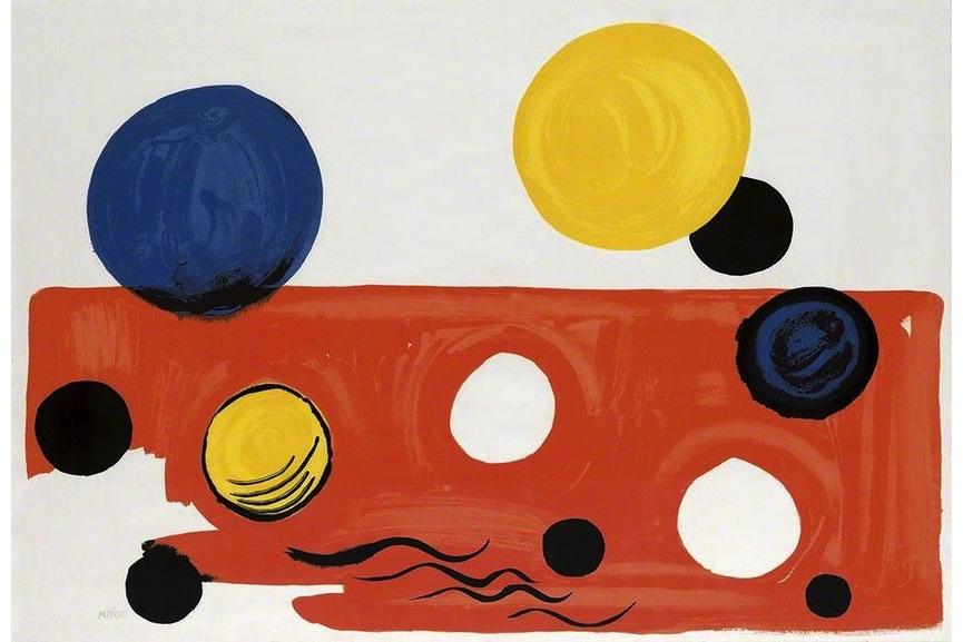 Alexander Calder - Landscape, 1975