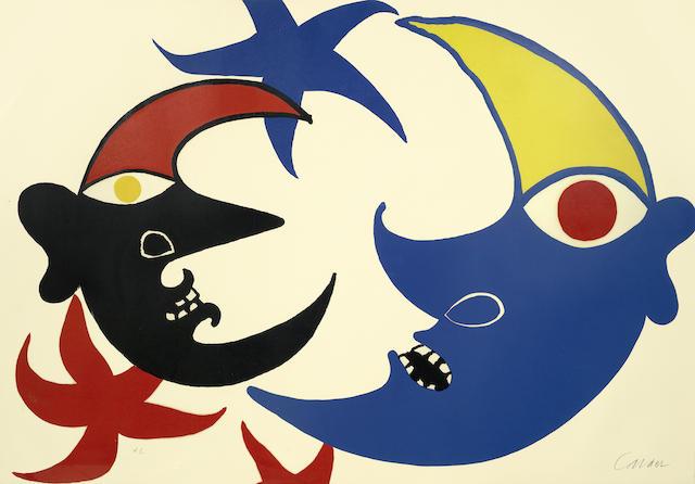 Alexander Calder-Les Deux Lunes-1974