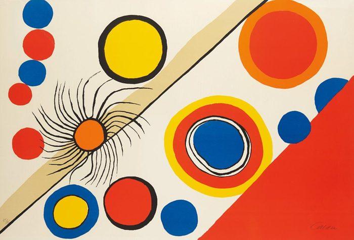 Alexander Calder-Spider's Nest (Nid d'araignee)-1975