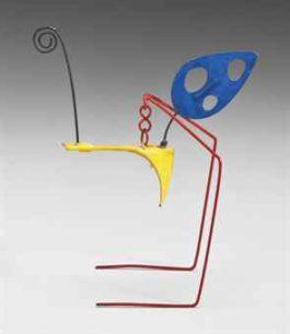 Alexander Calder-Ostrich-1950