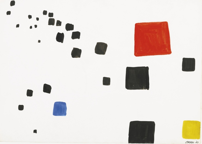 Alexander Calder-Receding Blocks-1944
