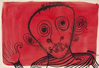 Alexander Calder-Sans titre-1953