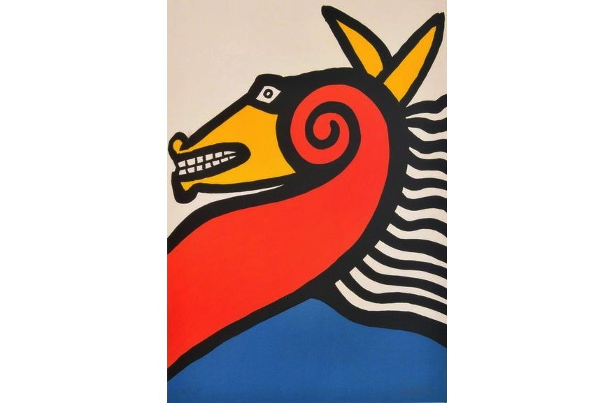 Alexander Calder - Seahorse, 1975