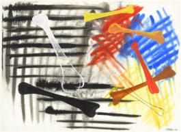 Alexander Calder-Seven Bones-1944