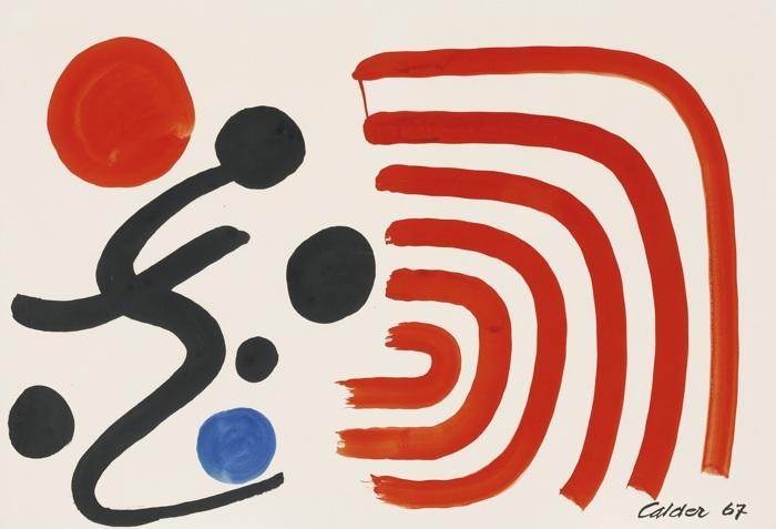 Alexander Calder-Shock Waves-1967