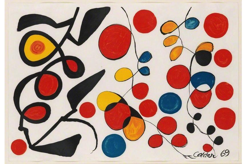Alexander Calder - Spring Carnival, 1965