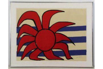 Alexander Calder - Sun and Sea, 1970