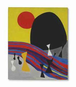 Alexander Calder-The Black Mountain-1945