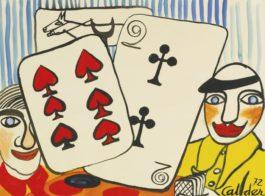 Alexander Calder-The Gamblers-1972