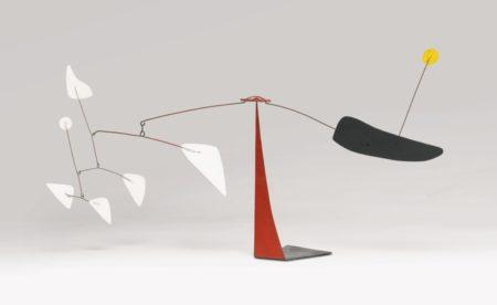 Alexander Calder-The Yellow Dot-1971