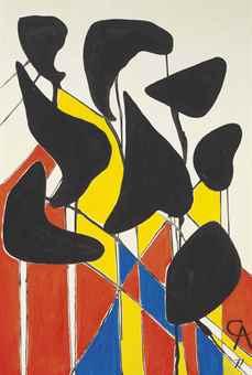 Alexander Calder-Untitled-1971