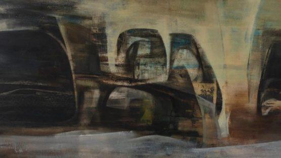Alexander MacKenzie - Reclining landscape (detail) - 1959
