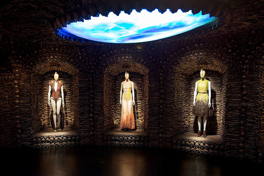 alexander mcqueen most popular exhibition