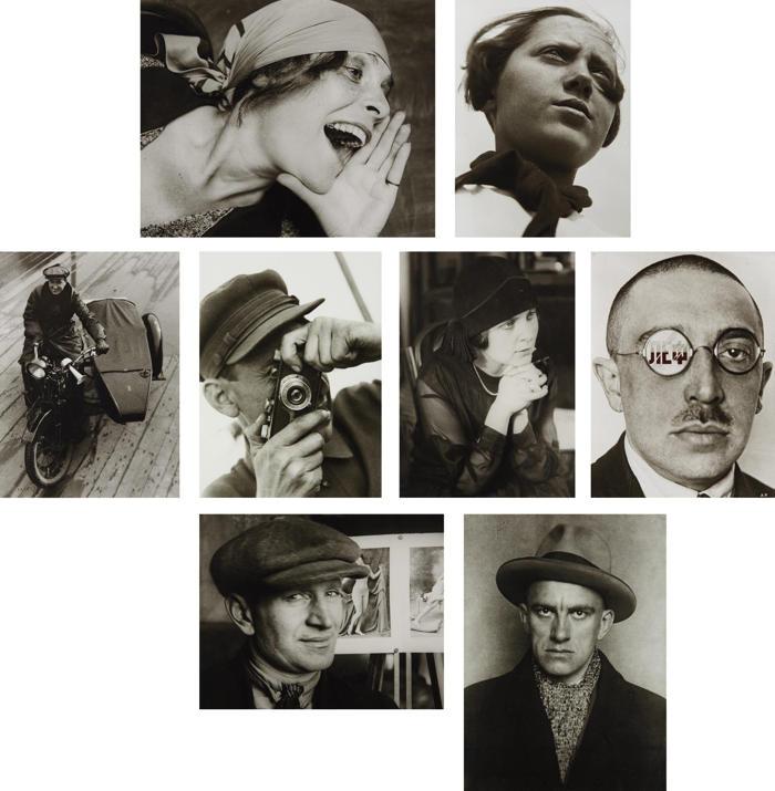 Alexander Rodchenko-Museum Series Portfolio Number 2: Portraits-