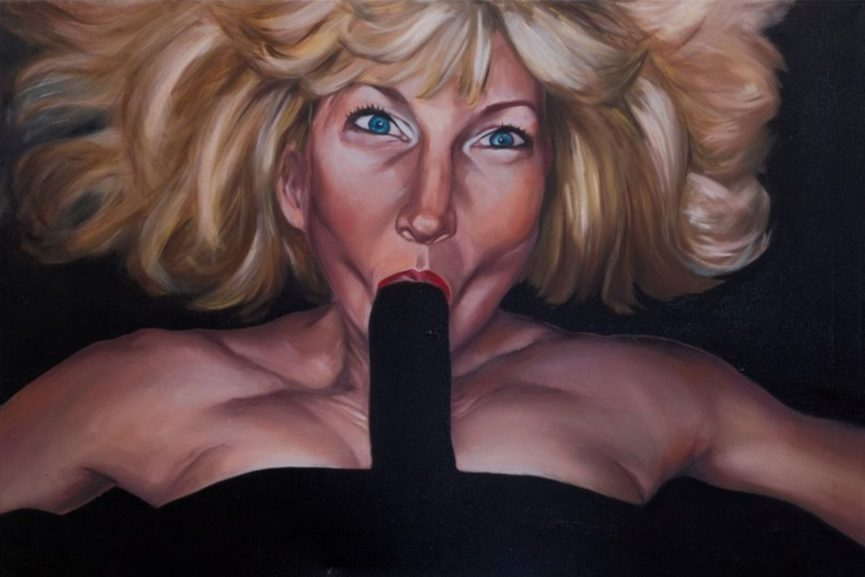 The Power of Carnal Ecstasy: Art of Alexandra Rubinstein
