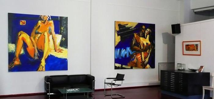 Alexandre Akar - solo show at Galerie Zeitlos, Kamen, Germany, 2011, installation view, photo credits - artist