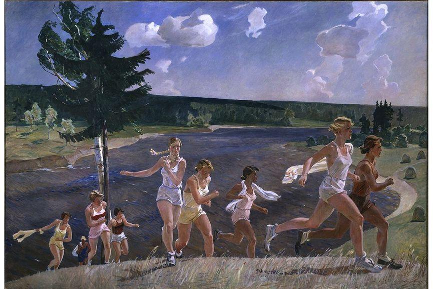 Alexandre Deïneka - Pleine liberté, 1944