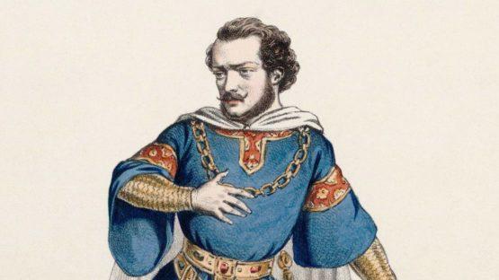 Alexandre Lacauchie - Gilbert Duprez as Gaston in Verdi's Jérusalem - Image via wikimedia