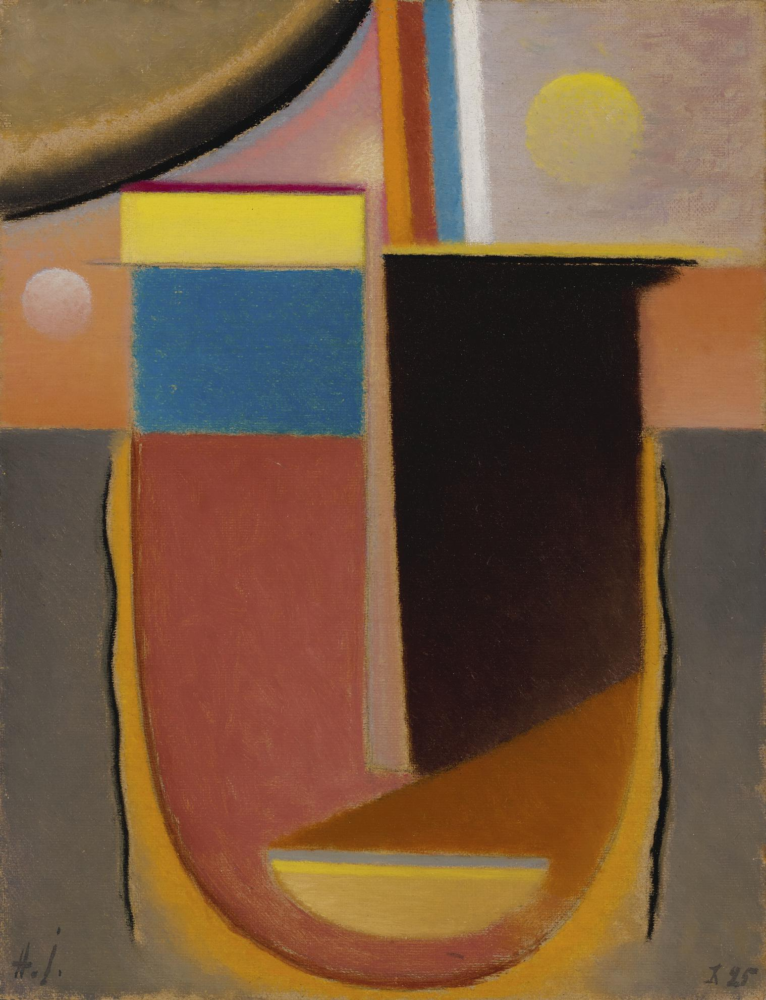 Alexej von Jawlensky-Abstrakter Kopf: Klarheit (Abstract Head: Lucidity)-1925