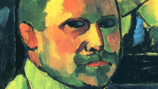 Alexej von Jawlensky - Selfportrait (detail)