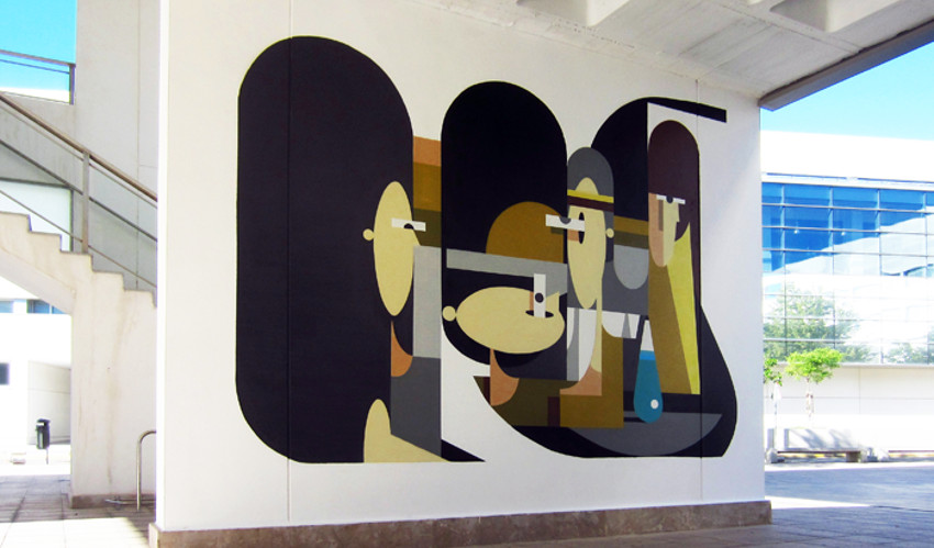 alexeyluka - A mural made for Poliniza Festival in the city of Valencia, Spain, 2013 - new - long