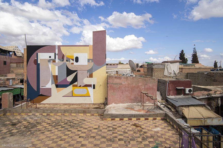 Alexey Luka mural in medina Marrakesh Photo_©_Ian_Cox_2016