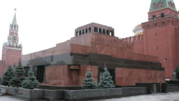Alexey Shchusev - Lenin's Mausoleum, 2016 - Image via like post years policy of concrete