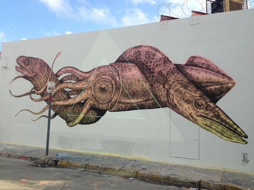 Street art in the US