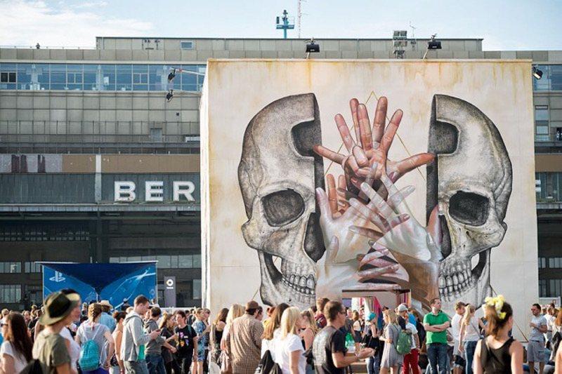 Alexis Diaz x Case Maclaim - Open Mind - Lollapalooza, Berlin, Urban Nation, 2015