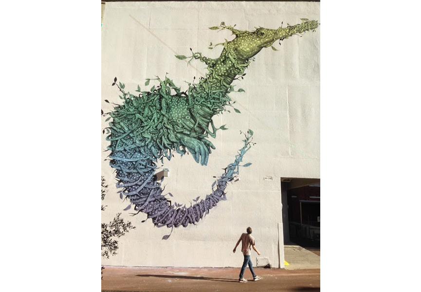 Mural in Perth